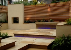 cedar baton and paving -wimbledon